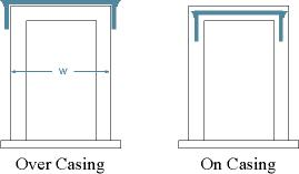 Cornices and Casing