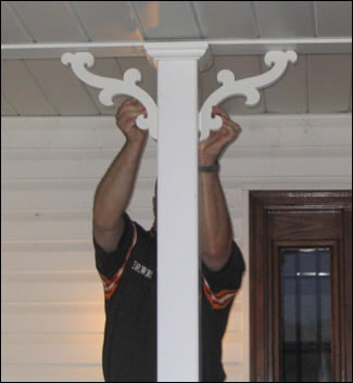 Bracket Installation Usage Photo