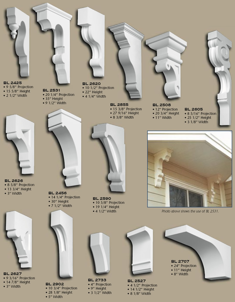 Polyurethane Corbels Pg 6 Buy Online Huge Selection