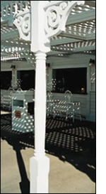 Polyurethane Porch Posts