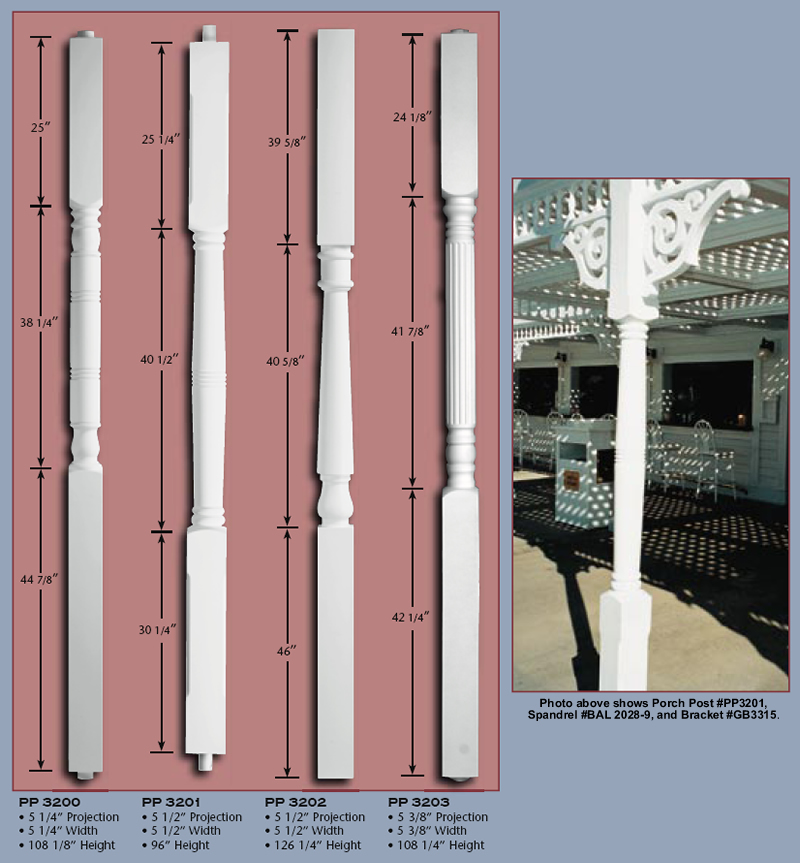 Poly Porch Posts - Steel Core,pg 1