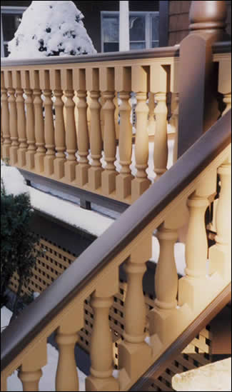 Balusters Usage Photo