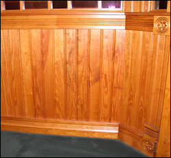 Cap Moulding with Beadboard