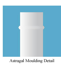 Astragal Moulding Detail