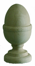 6'' Majestic Acorn- Pressure Treated Finial