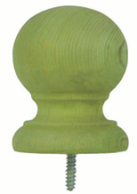 4'' Traditional - Pressure Treated Finial