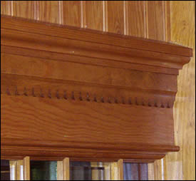 Cap Moulding Usage Photo