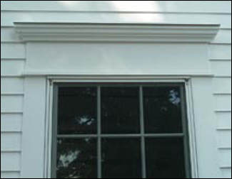Window Cap - Exterior Usage Photo