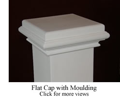 Flat Cap with Moulding