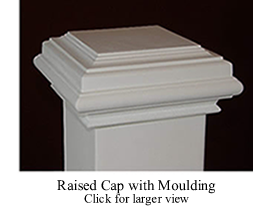Raised Cap with Moulding
