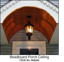 Beadboard Barrel Vaulted Entry