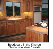 Beadboard in the Kitchen