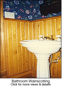 Beadboard Bathroom Wainscoting