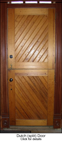 Beadboard Dutch (split) Door
