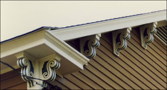 Close-up Color scheme of Corbel Photo 7