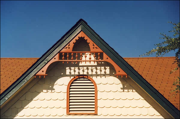 Close-up of Gable Photo1