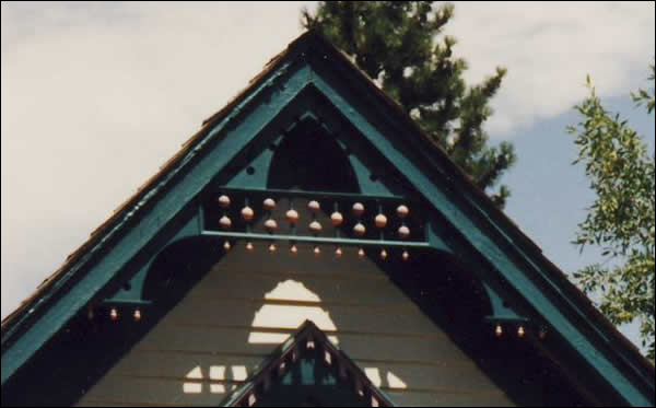 Close-up of Front Gable of Gable Photo 3