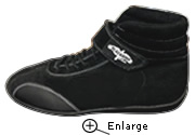 Crow Racing Shoe Black Driving Shoes Shown