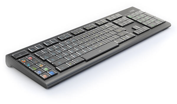 Optimax OLED Keyboard