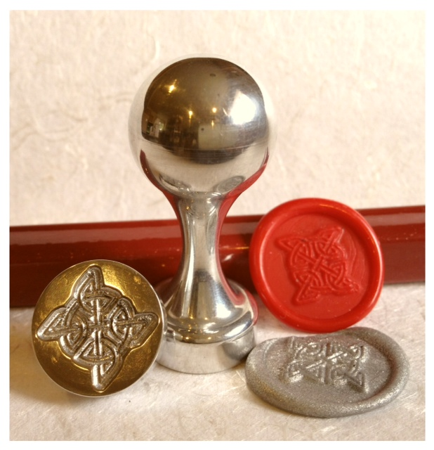 LetterSeals.com Celtic Knot Wax Seal Stamp