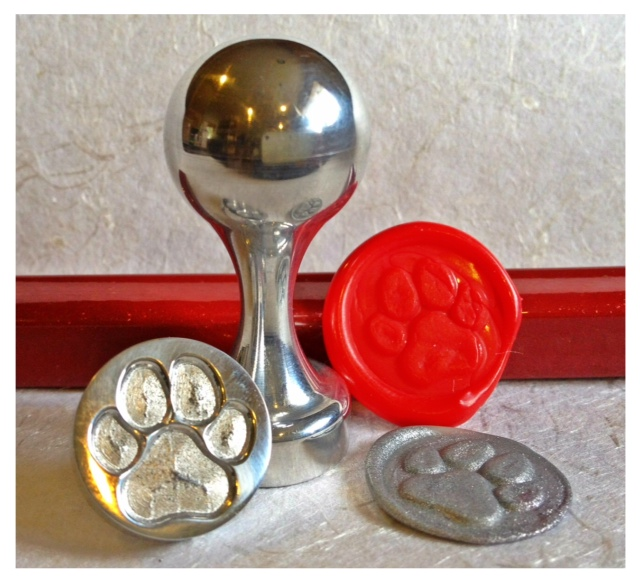 LetterSeals.com Paw Wax Seal Stamp