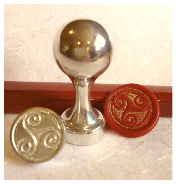 LetterSeals.com Trinity Wax Seal Stamp