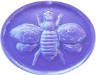 lavender faux sealing wax