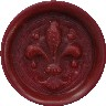 burgundy glue gun sealing wax