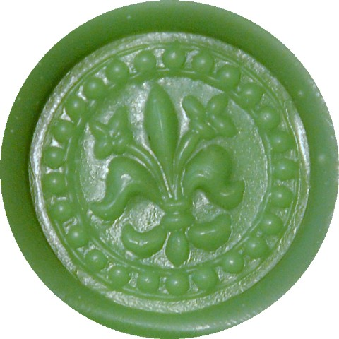 kelly green glue gun sealing wax