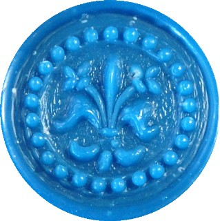 light blue glue gun sealing wax
