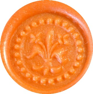 orange pearl glue gun sealing wax