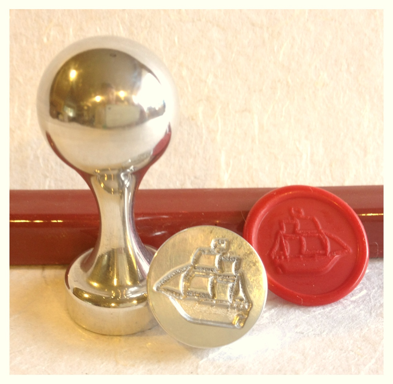 Schooner wax seal