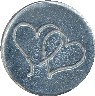 double heart wax seal