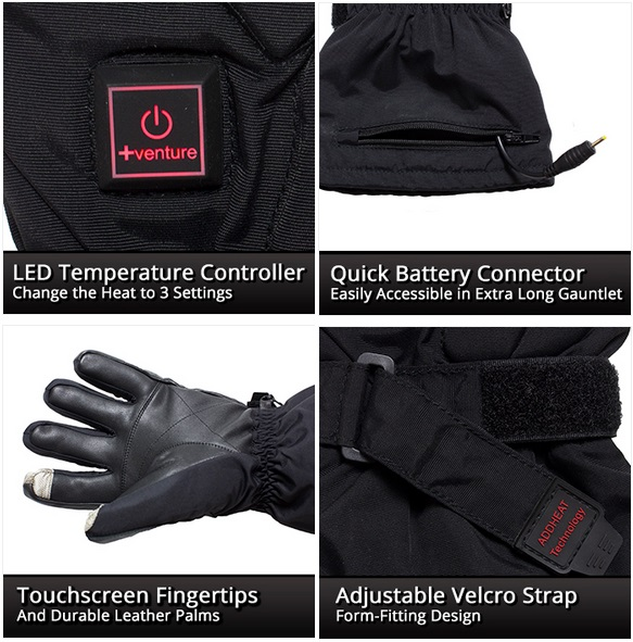 Venture Epic 2.0 Heated Gloves