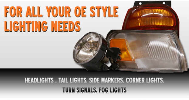 For all your OE style lighting needs