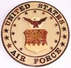 Air Force Emblem Wooden Plaque
