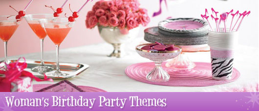 Women's Birthday Party Supplies & Decorations