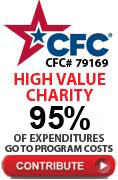 Caseys Cookies is CFC charity 79169 with only 5% administrative expense