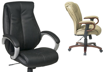 Executive Chairs - Leather