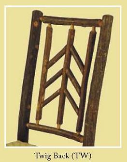 Twig Back Chair