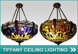 Tiffany Ceiling Lights, Tiffany Lamps, Tiffany Lights