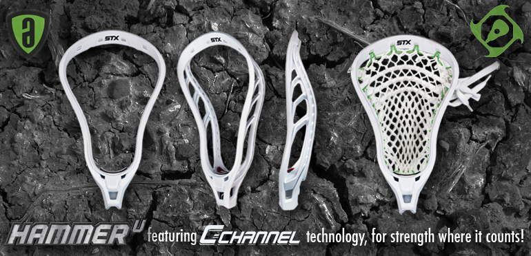 STX Hammer U Lacrosse Head
