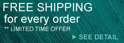 Free Shipping + 15% OFF Any Order