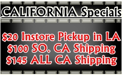 California Shipping Special