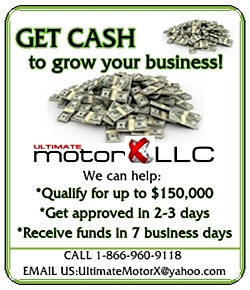 Ultimate Motor X LLC Small Business Loans