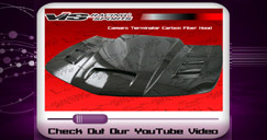 Check out our Camaro Terminator Carbon Fiber Hood on YouTube!