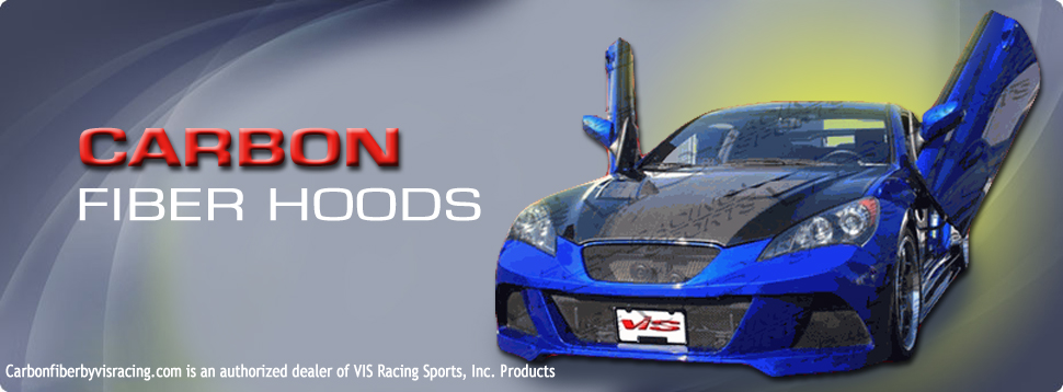 VIS Racing Carbon Fiber Hoods