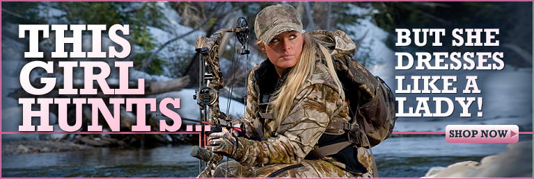 This girl hunts... but she dresses like a lady!