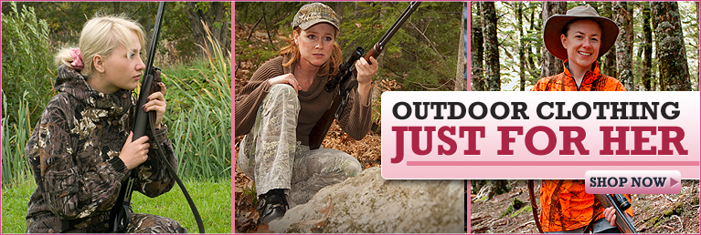 Outdoor Clothing Just for Her