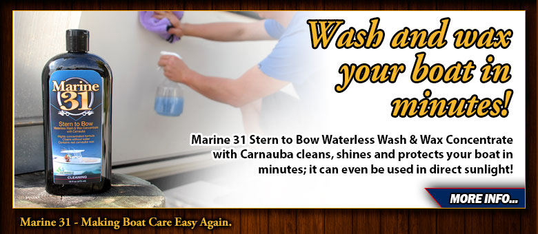 marine 31 waterless boat wash concentrate